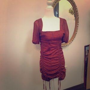 Brown nasty gal dress